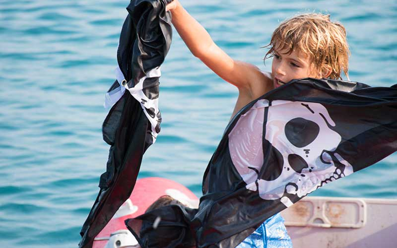 CTS Family Sailing Holidays Greece kids Pirates