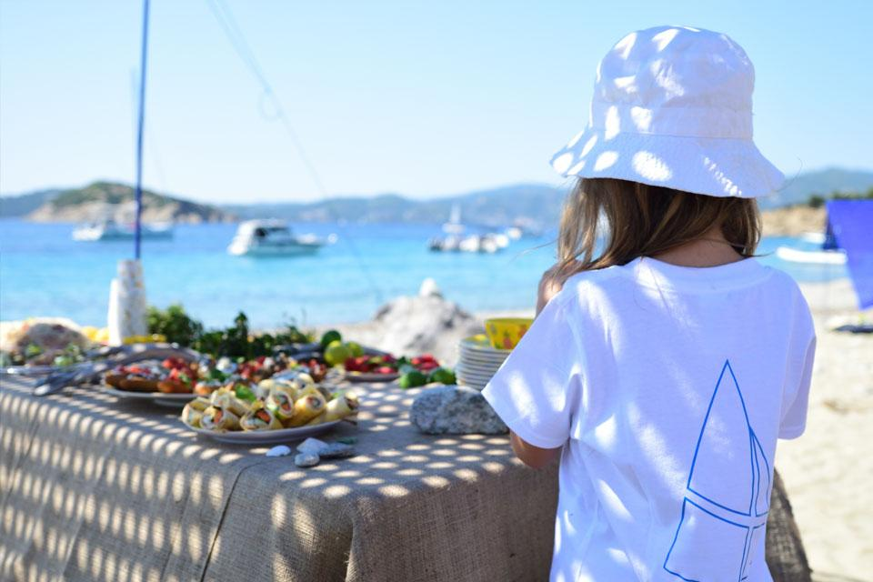 CTS Family Sailing Holidays Greece kids food